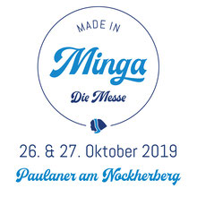 Made in Minga Messe mit Datum 2019 im Paulaner am Nockerberg